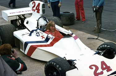 L'esordio di James Hunt a bordo della Hesketh
