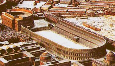 Ricostruzione dello Stadio di Domiziano