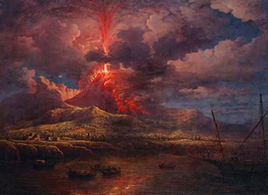 L'eruzione del Vesuvio del 79 iniziò il declino della Campania Felix