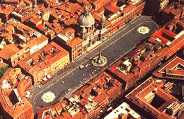 Piazza Navona rispetta esattamente la forma dello Stadio di Domiziano