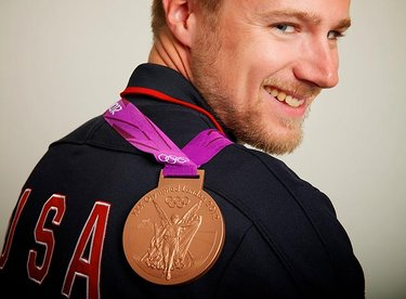 Finalmente una medaglia (© Neil Leifer)