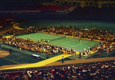 La battaglia dei sessi Astrodome di Houston, 20 settembre 1973  (© AP Photo)