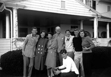 La famiglia Kennedy praticava innumerevoli sport