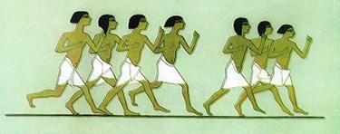 Corsa - Tomba di Mereruke (Saqqara - VI Dinastia, 2250 a.C.)