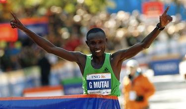 L'ultimo vincitore della maratona di NY, il kenyano Mutai