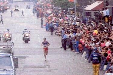 La prima vittoria di Pizzolato, edizione 1984