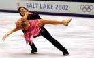 18 Febbraio 2002: Barbara Fusar-Poli e Maurizio Margaglio conquistano la prima medaglia italiana (© Doug Pensinger/Getty Images)
