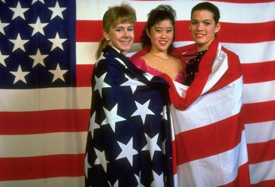 Un podio a stelle e strisce: Yamaguchi, Harding e Kerrigan
