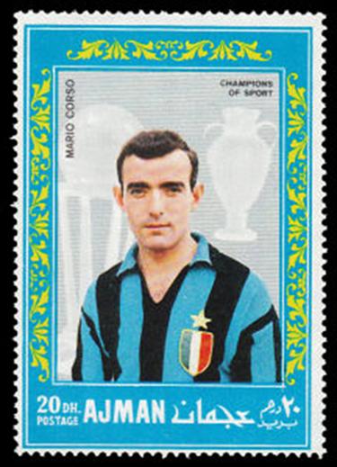 Un francobollo dedicato a Mariolino Corso