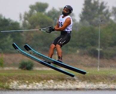 """""""Daniele Cassioli si allena nel salto."""" (© Daniele Cassioli)"""