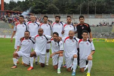 Claudio con la sua squadra, L'Aquila Calcio