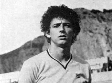 Un'immagine giovanile di Maurizio Schillaci