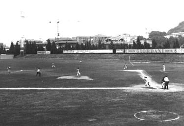 Il primo campo del Nettuno (© Archivio FIBS)