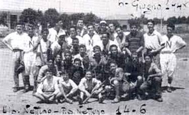 il Nettuno BC nel 1948