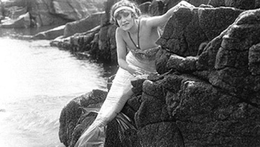 Annette durante le riprese di uno dei suoi film