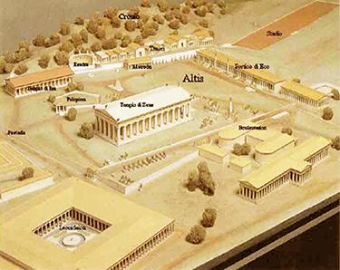 Ricostruzione di Olimpia