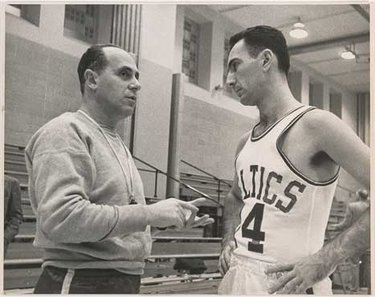 "Arnold ""Red"" Auerbach e Bob Cousy (© National Portrait Gallery, Smithsonian Institution)"