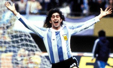 Mario Kempes ai Mondiali 1978
