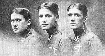 i tre fratelli Pélissier- Henri, Francis e Charles