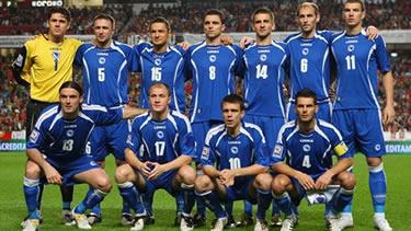 la Nazionale della Bosnia Erzegovina