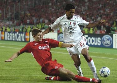 Gerrard in azione