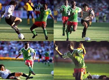 La sequenza del gol-beffa ai danni di Higuita