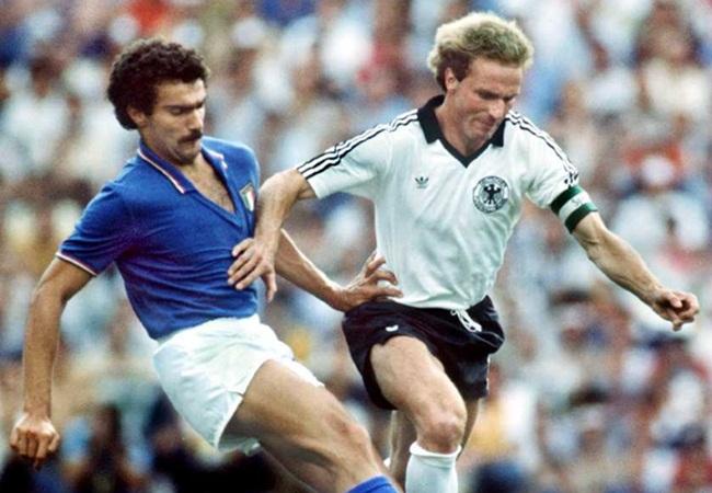 Bergomi durante la finale del Mondiale 1982