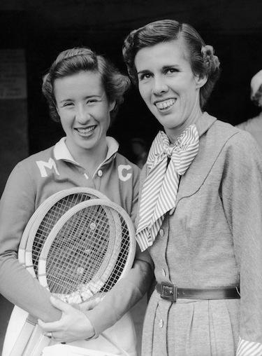 Maureen insieme alla rivale di sempre, Doris Hart