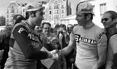 L'eterna rivalità con Eddy Merckx