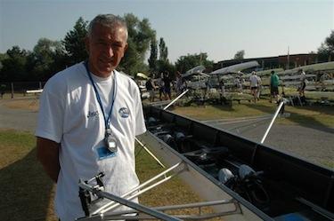 Andrea Coppola, tecnico della Nazionale italiana