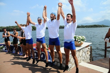 Coppola ha allenato anche il quattro di coppia U23 campione d'Italia