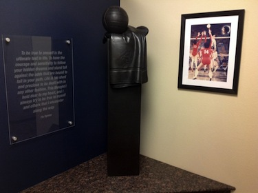 Il ricordo di Flo nel centro sportivo del Colorado in cui si allenava con la Nazionale