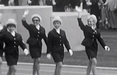 La cerimonia inaugurale di Messico 1968