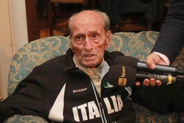 Alfredo Martini in una delle ultime interviste