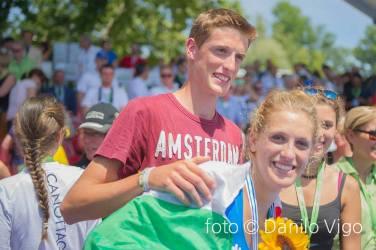 Sara con il fratello Mattia (@Danilo Vigo)