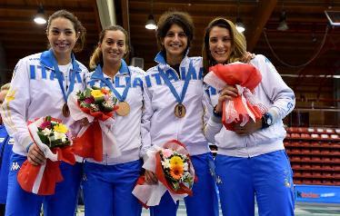 La squadra (@ Federazione Italiana Scherma)