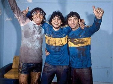 Gatti, Maradona e Brindisi negli spogliatoi