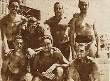 La Rari Nantes campione d'Italia 1939