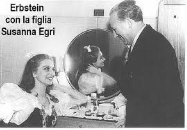 Ernest con la figlia Susanna