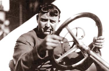 Barney Oldfield, uno dei più temibili avversari di De Palma