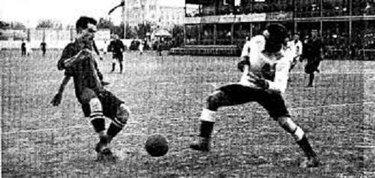 Un momento del Clásico 1902