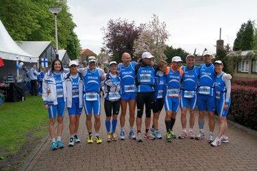 La delegazione italiana ai mondiali d'Olanda (©Valeria Ravani)