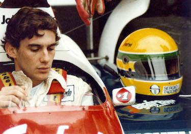 Senna a bordo della Toleman
