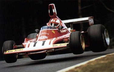 La Ferrari di Regazzoni