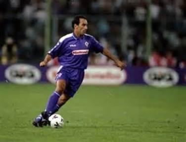 Edmundo con la maglia della Fiorentina