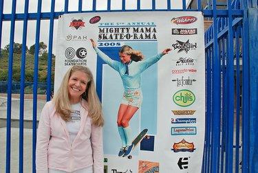 La O'Neal nel 2008 al premio Mighty Mama Skate-O-Rama