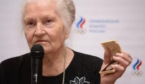Nina Ponomareva in una delle immagini più recenti