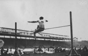 La performance olimpica di Ewry