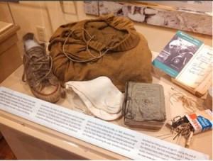 Teca al Museo dall'Appalachian Trail (da wanderingwalltoskis.com)