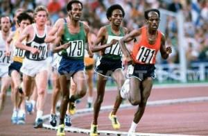 La maratona alle Olimpiadi di Mosca